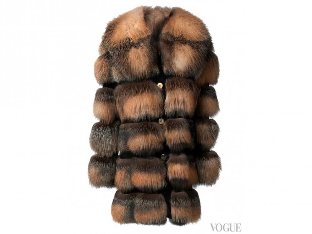 Пальто из меха куницы, Liska
