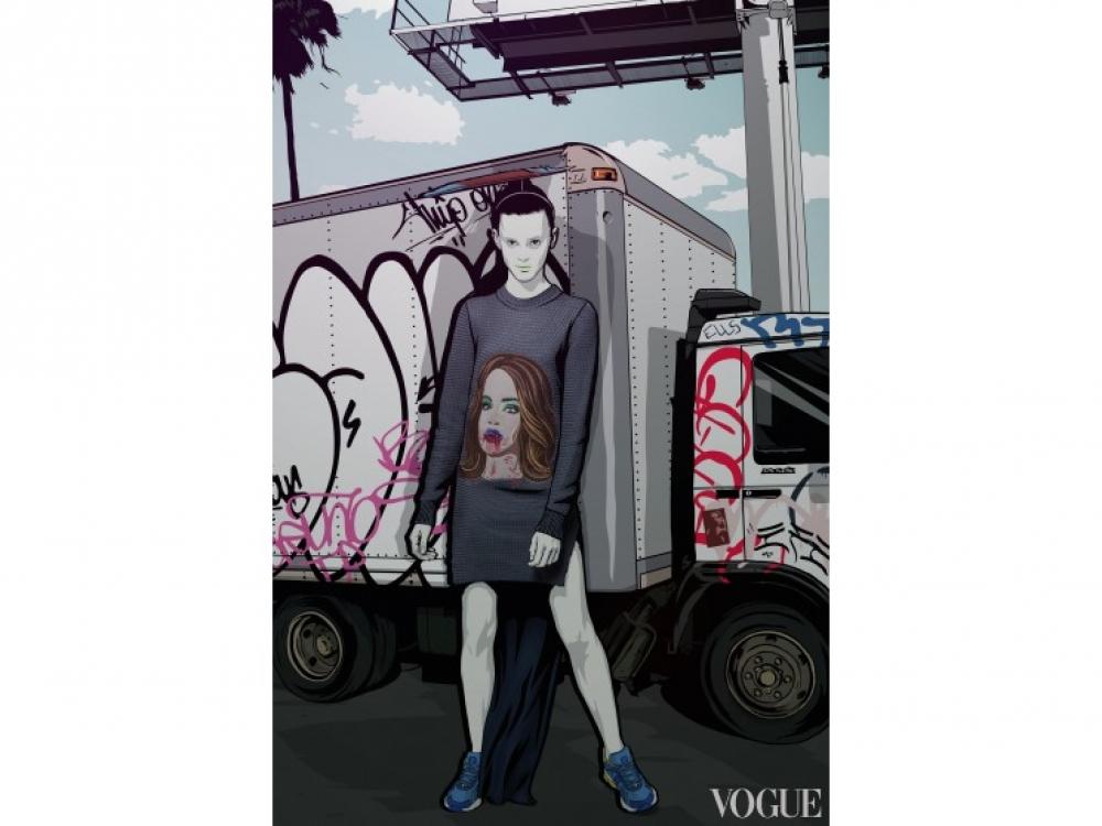 |Рекламная кампания Jean Gritsfeldt осень-зима 2014/2015