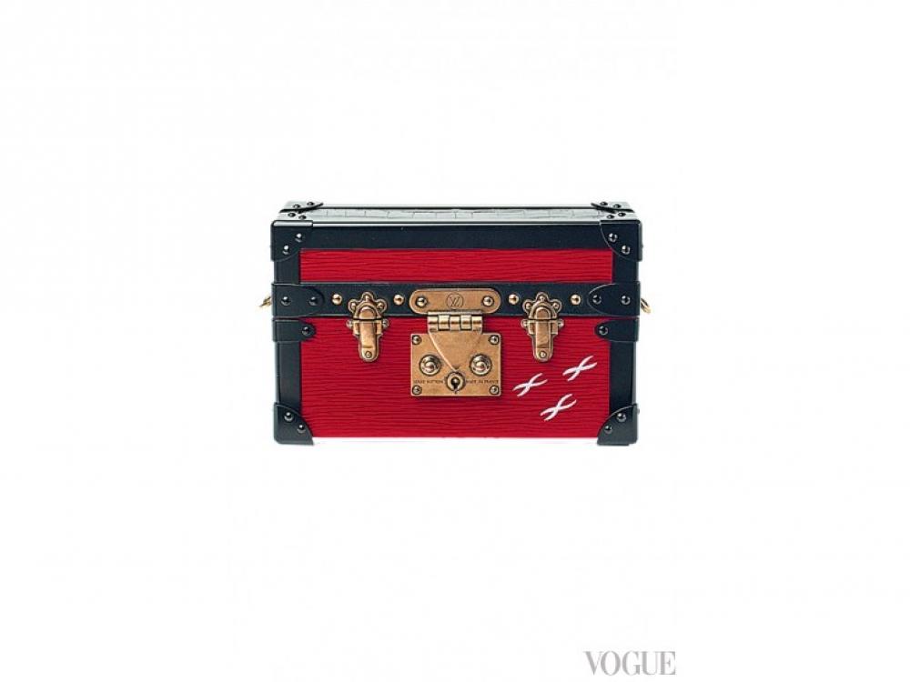 Кожаная сумка, Louis Vuitton