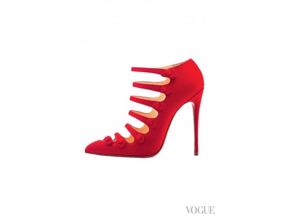 Замшевые туфли, Christian Louboutin