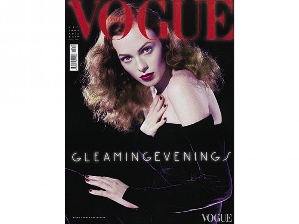 Итальянский Vogue, декабрь 2004. Фотограф: Стивен Мейзел