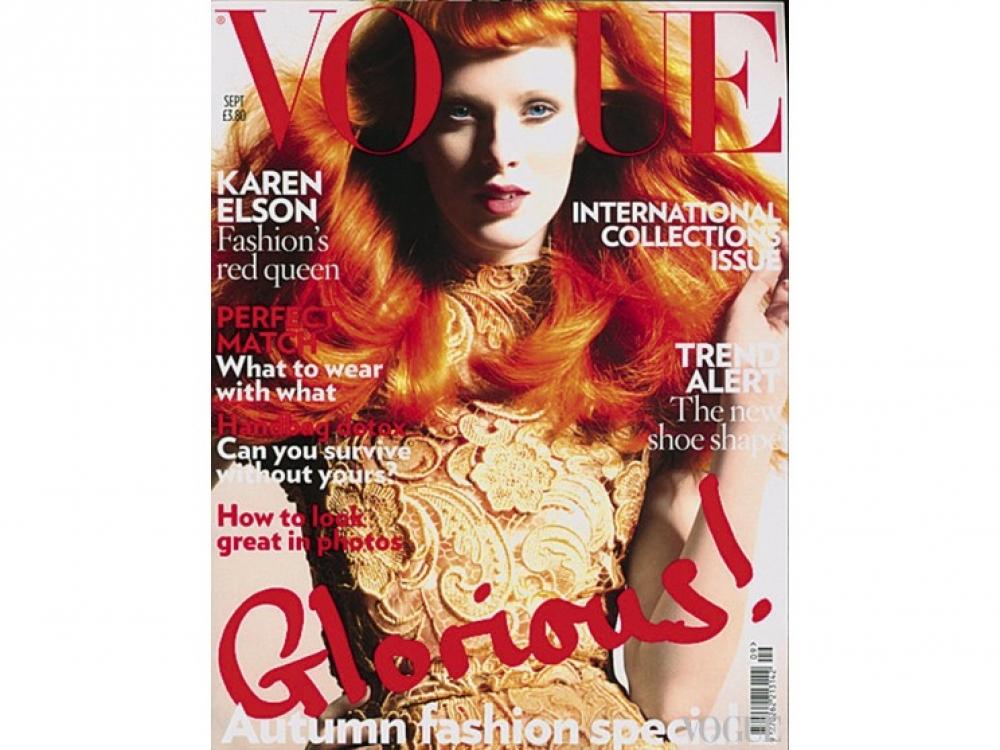 Английский Vogue, сентябрь 2008. Фотограф: Ник Найт