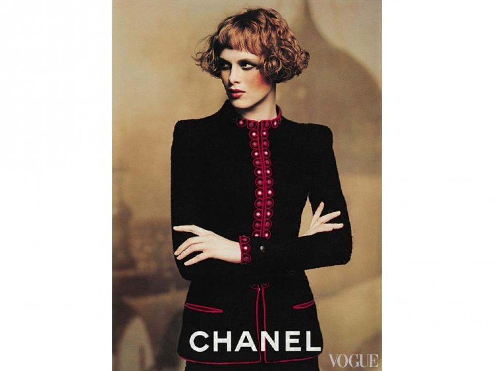 Chanel осень-зима – 1997. Фотограф: Карл Лагерфельд