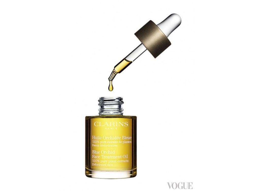 Сухое масло для лица с расслабляющим эффектом Blue Orchid, Clarins, 586 грн.