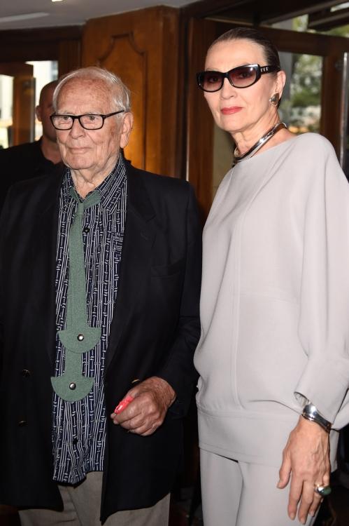 Пьер Карден и Мариса Гаспард