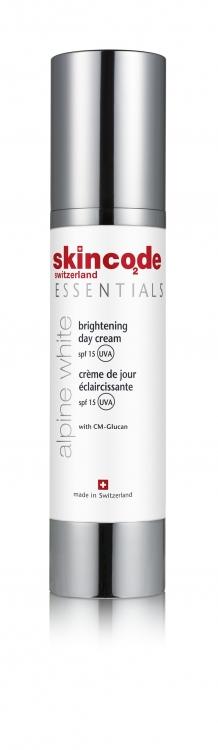 Осветляющий дневной крем Brightening Day Cream SPF 15, Skincode
