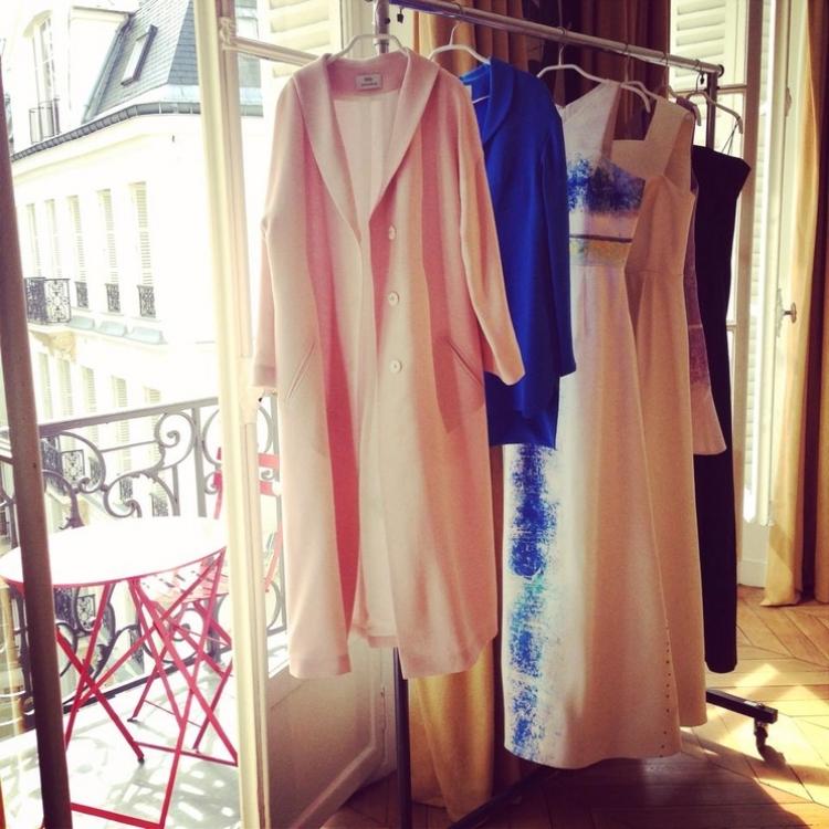 Шоурум ELENAREVA на Неделе моды в Париже