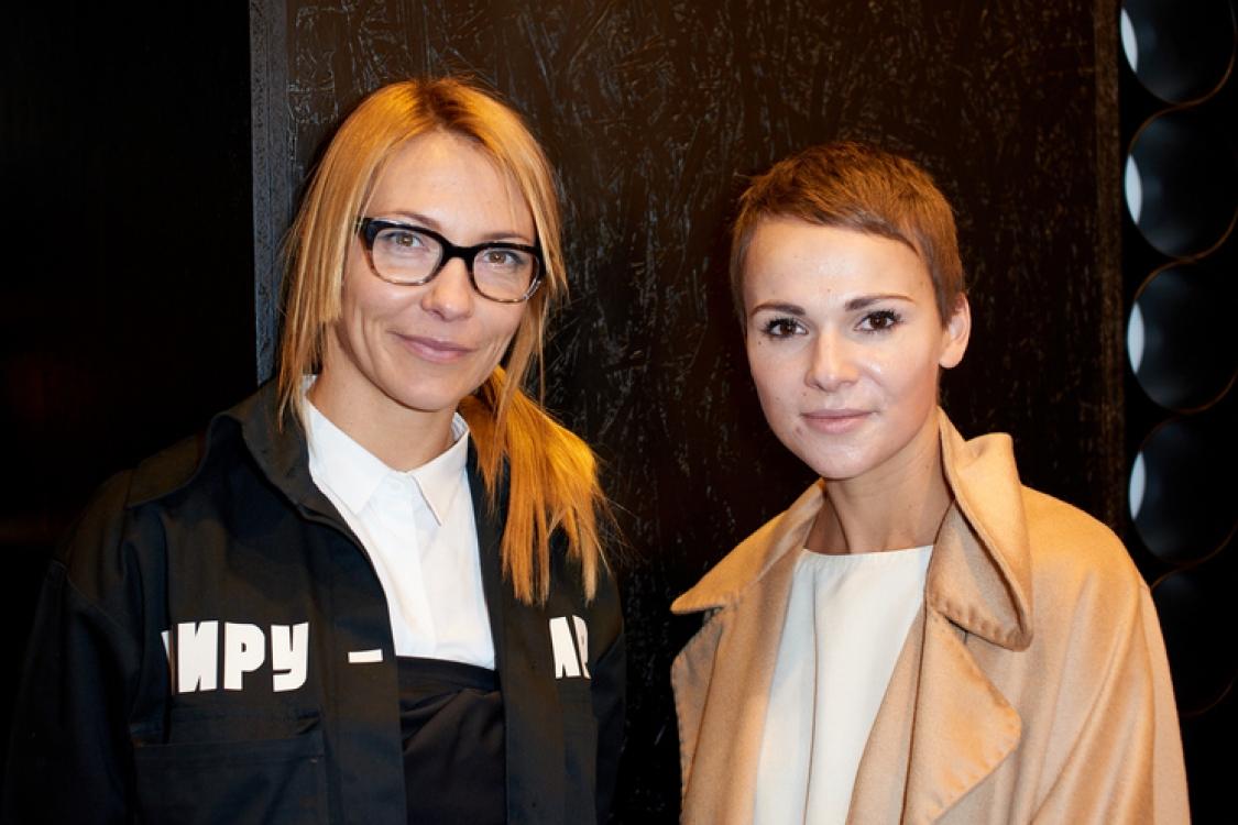 Зинаида Лихачева и Катя Березницкая