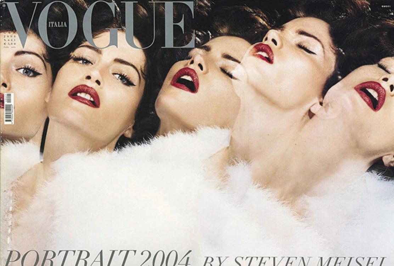 1. Vogue Италия, январь 2004. Фотограф: Стивен Мейзел
