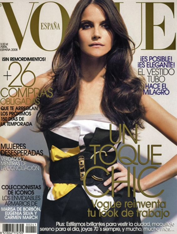2. Vogue Испания, сентябрь 2006. Фотограф: Реган Кэмерон