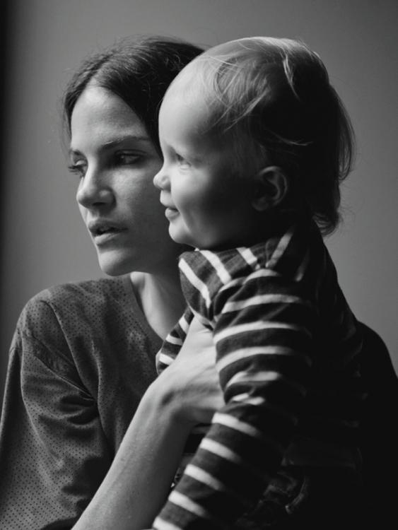 3. Мисси и ее сын Лука