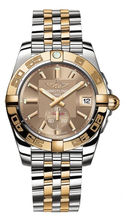 Часы Galactic 36 Automatic, сталь, розовое золото, Breitling