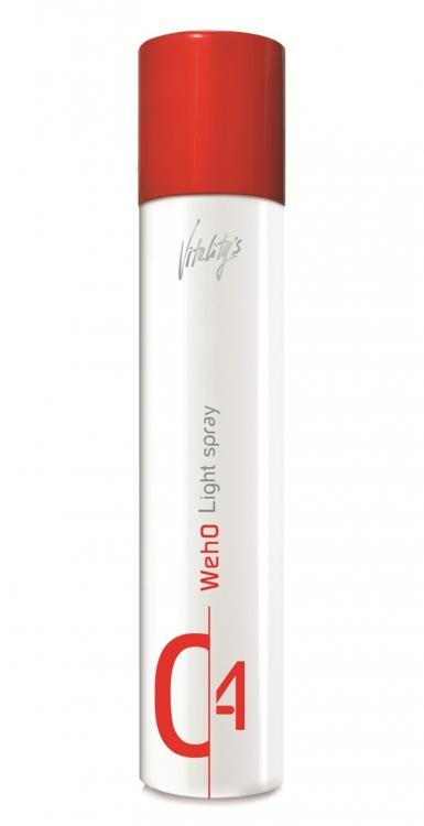 Спрей для мгновенного придания блеска волосам и защиты от влажности Light Spray WE-HO, Vitality's