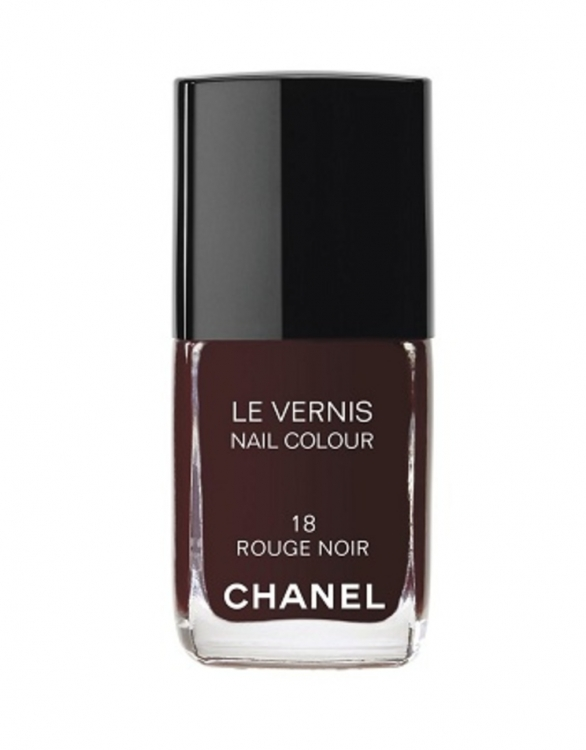 Лак для ногтей, №18 Rouge Noir, Chanel