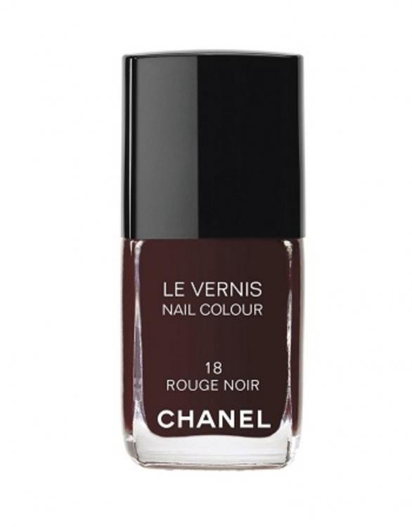 Лак для ногтей, №18 Rouge Noir, Chanel