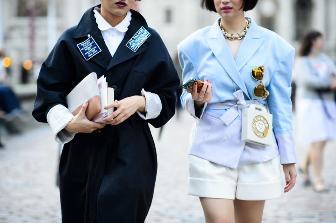 Неделя моды в Лондоне, сентябрь 2014