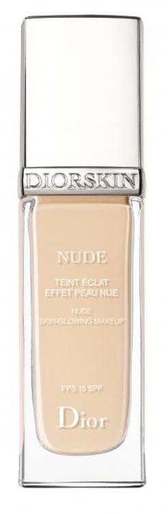 Полупрозрачный тональный крем с эффектом естественного сияния Diorskin Nude