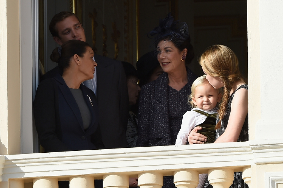 Принцесса Каролина, принцесса Александра, Саша Казираги