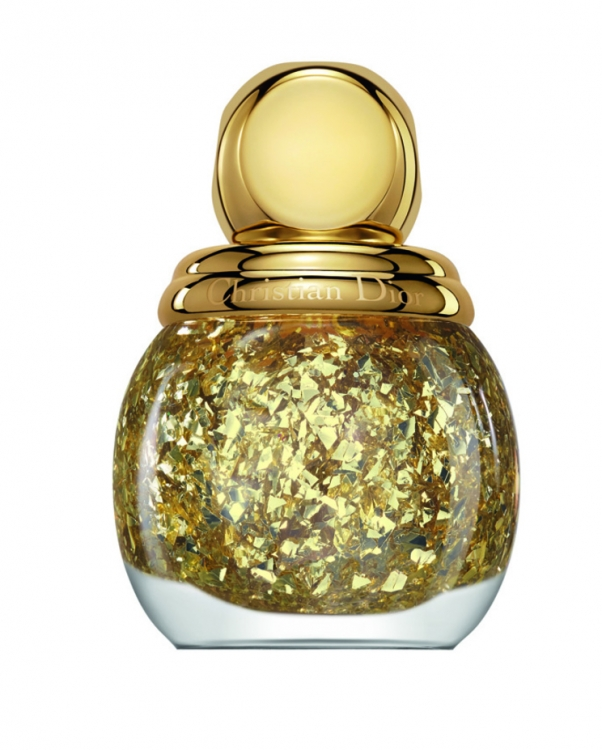 Верхнее покрытие Diorific Golden Shock, №001 Golden Shock, Dior