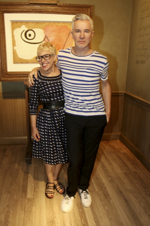 Баз Лурман с супругой Кэтрин Мартин