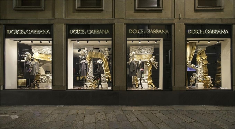 Рождественские витрины Dolce & Gabbana