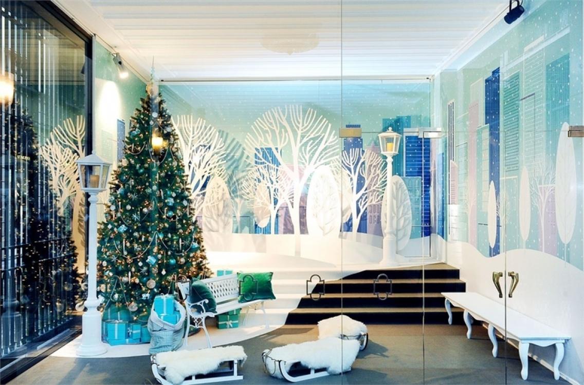 Рождественские витрины Tiffany & Co.