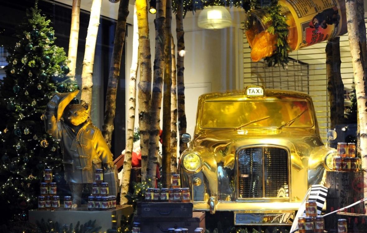 Рождественские витрины универмага Selfridge