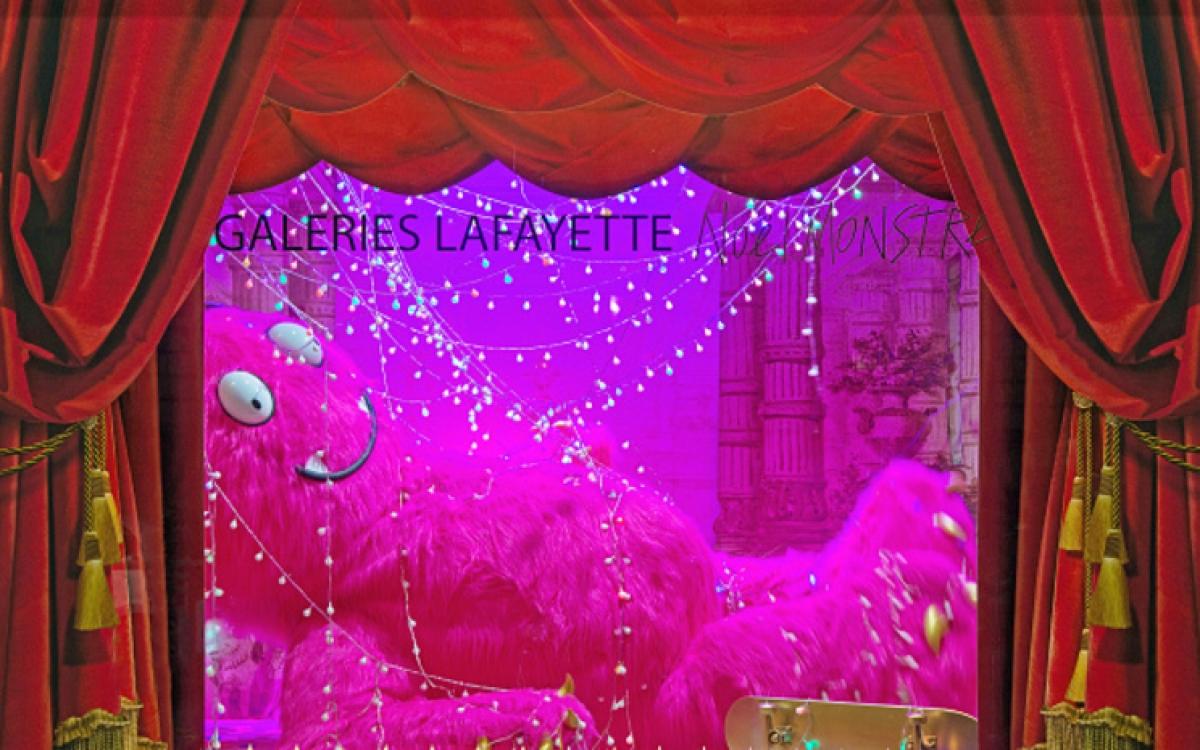 Рождественские витрины Galeries Lafayette
