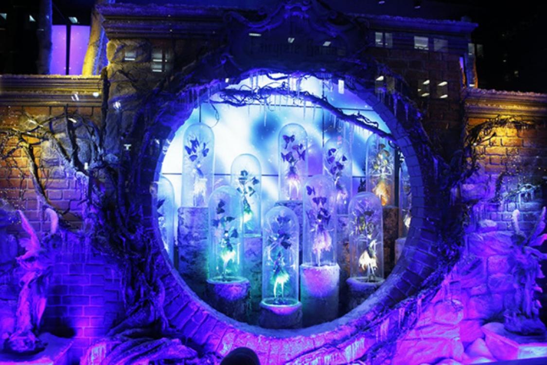 Рождественские витрины универмага Lord & Taylor