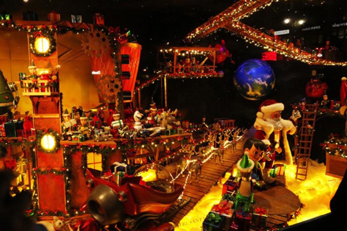 Рождественские витрины Macy's