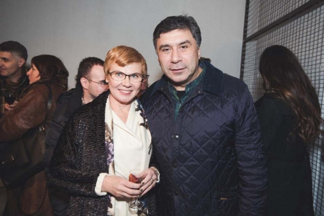 Людмила Березницкая и Арсен Савадов