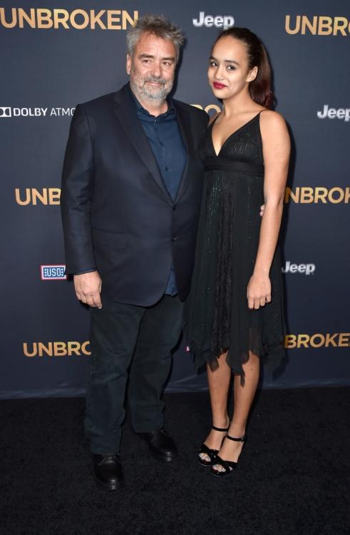 Люк Бессон с дочерью Талией