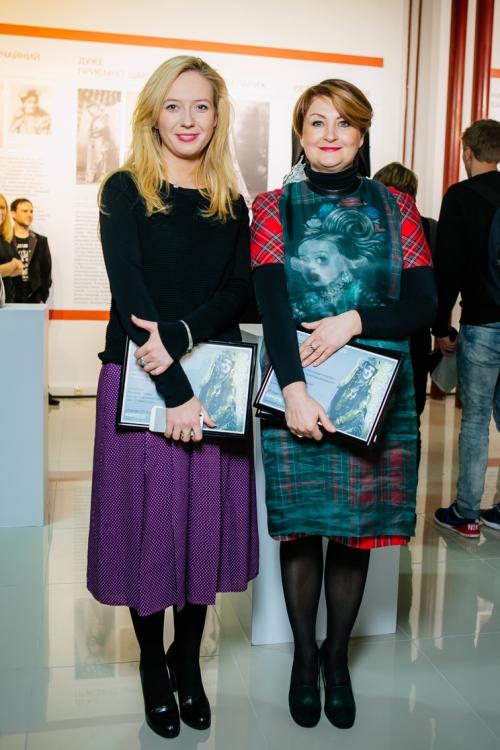 Инга Вишневская и Ирина Данилевская