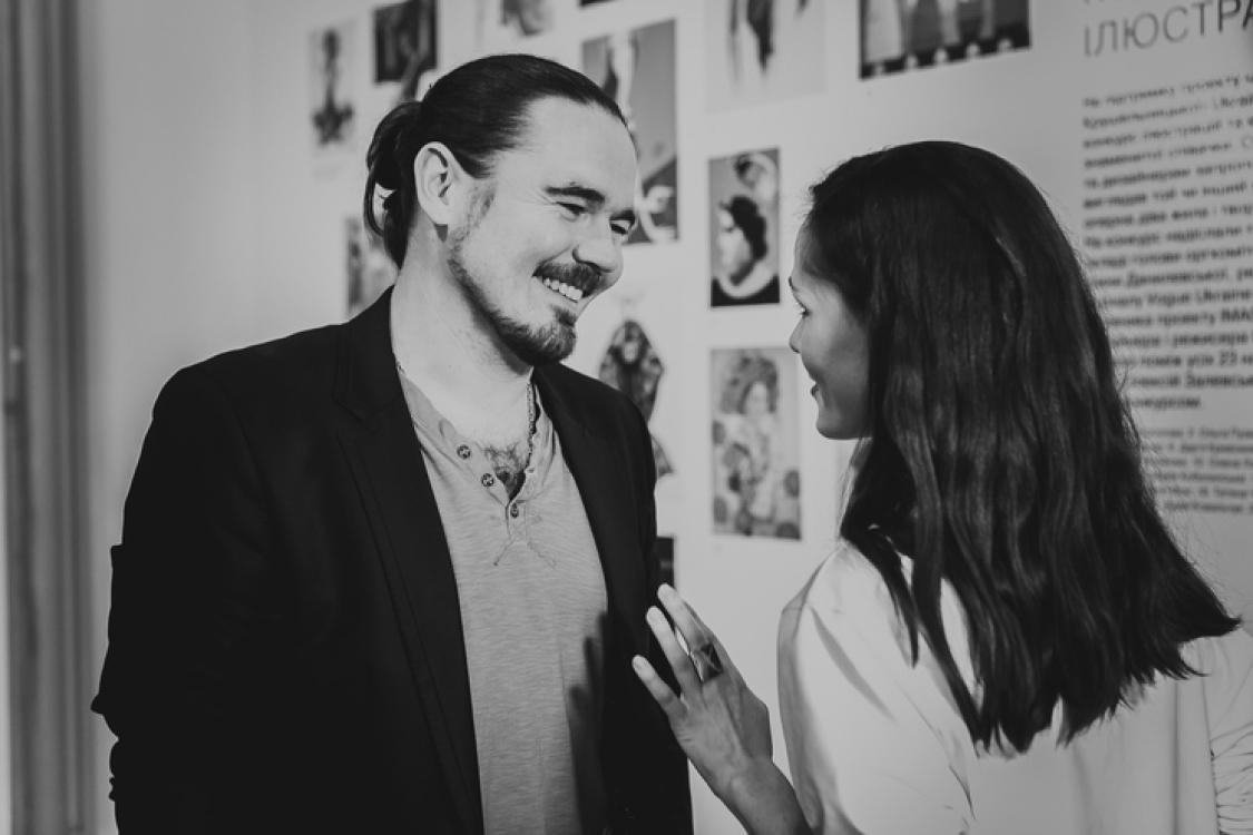 Олег Михайлюта и Юлия Санина