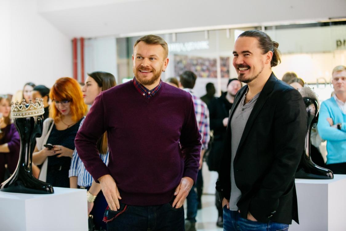 Александр Положинский и Олег Михайлюта