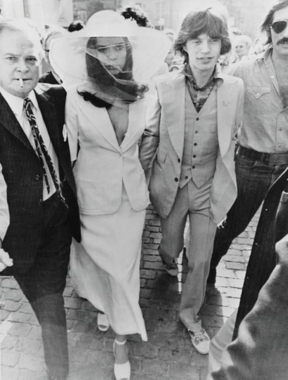 Свадьба Бьянки и Мика Джаггера, 1971