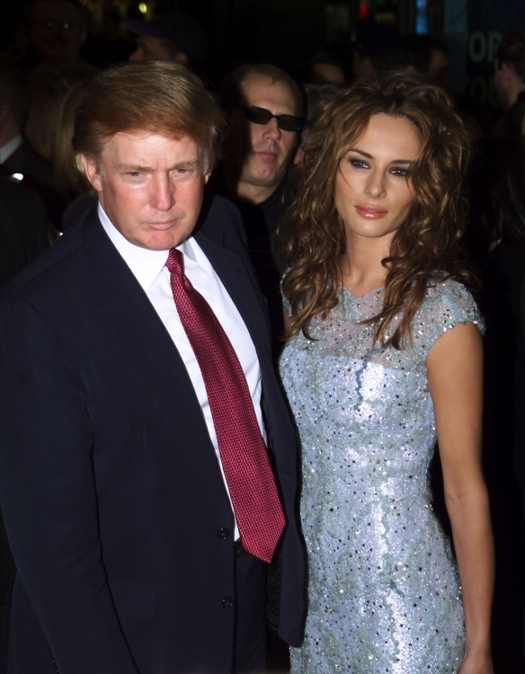 Фото свадебное платье трамп