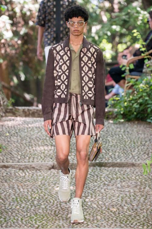 Fendi Menswear весна-лето 2020