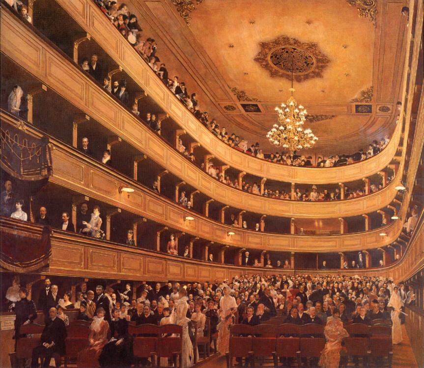 «Старий королівський театр», 1889