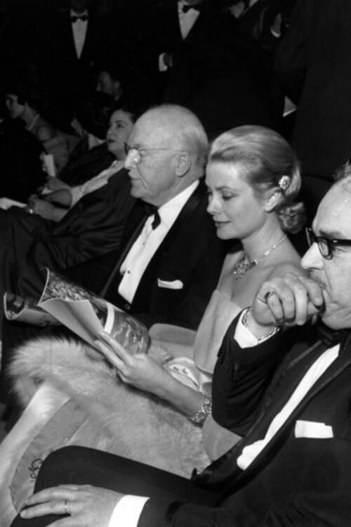 Грейс Келли и принц Ренье III, 1960