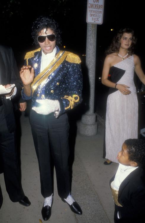 Майкл Джексон на вручении премии «Грэмми», 1984