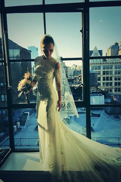 Кристина Риччи в платье от Riccardo Tisci, Givenchy