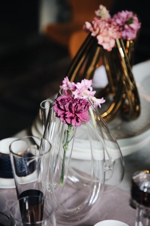 Ваза з колекції Triu Clear і ваза з колекції Triu Gold – все Rosethal