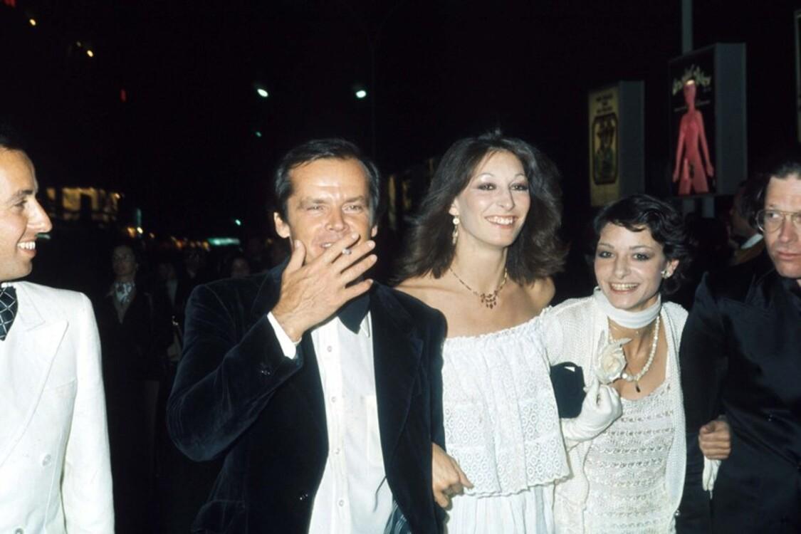 Джек Ніколсон і Анжеліка Г'юстон, 1974