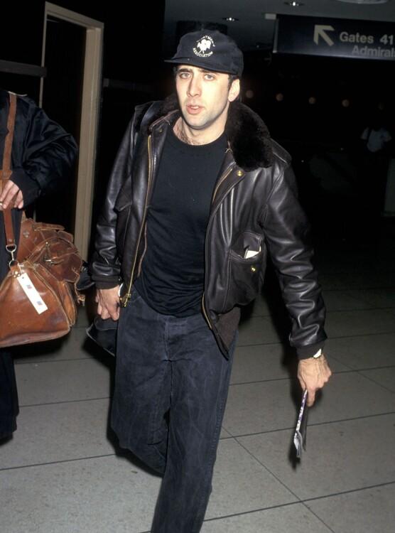 Николас Кейдж в Нью-Йорке 4 февраля 1993 года