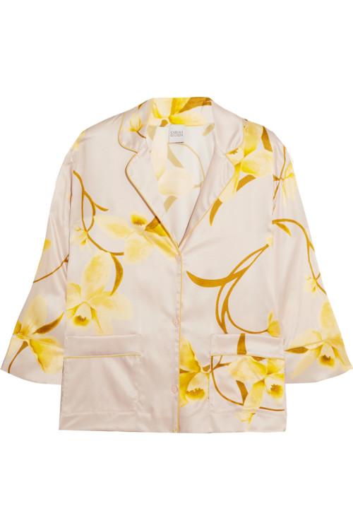 Шелковая пижама Carine Gilson