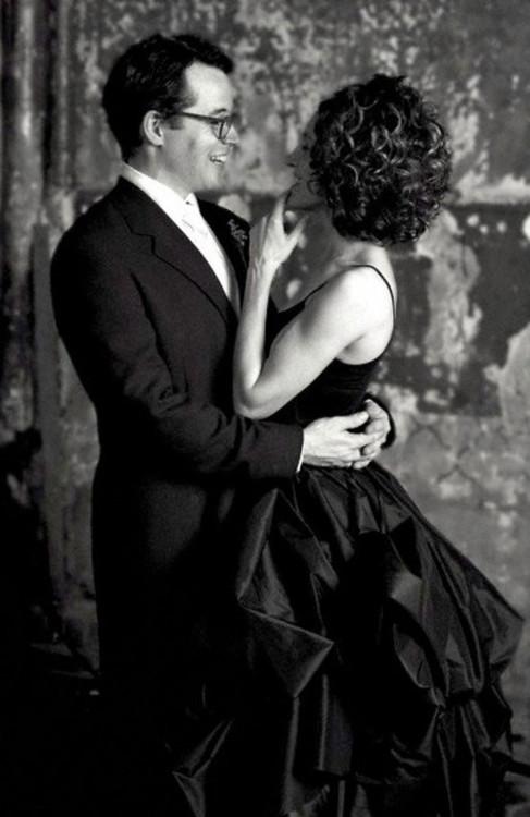 Сара Джессика Паркер в черном платье Morgane Le Fay