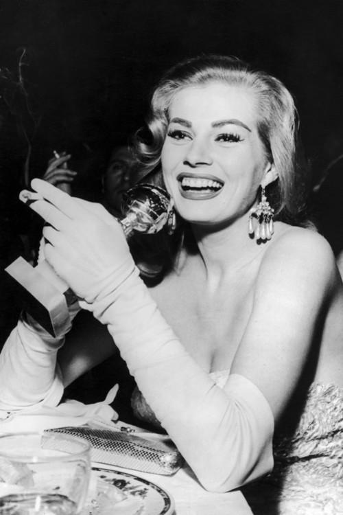 Анита Экберг, 1956