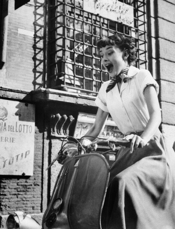 Одри Хепберн,  1953