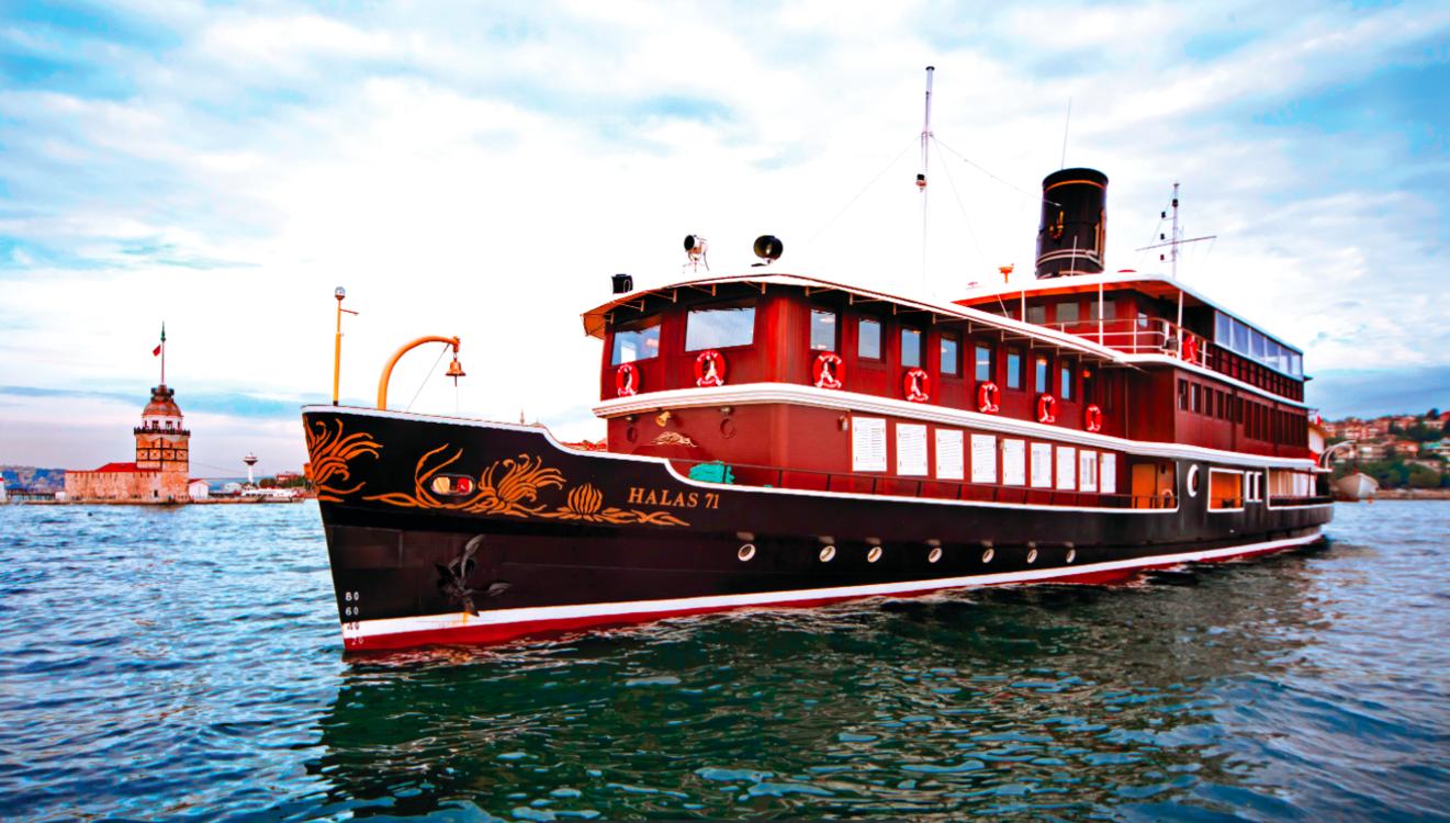 Круизная ретро-яхта Halas 71.
